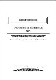 2005 Document de référence PDF