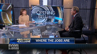 Gary Burnison talks on economic growth and jobs at Fox