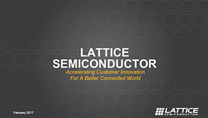 Lattice Semiconductor Corporate Overview PDF