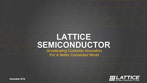 Lattice Semiconductor Corporate Overview PDF