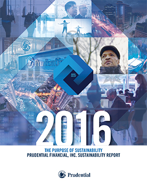 2016 Prudential Financial, Inc. Sustainability Report