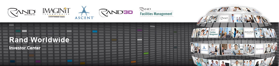 RAND Worldwide, IMAGINiT Technologies, Ascent Center for Technical Knowledge, and RAND Secure Archive
