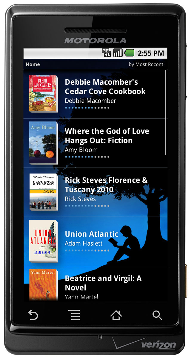 Kindle Android App Product Images
