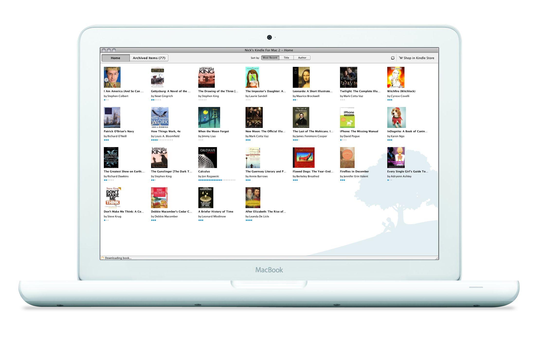 Kindle Mac App Product images
