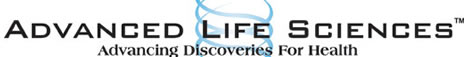 Advanced Life Sciences Inc. Web Site