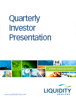Quarterly Investor Presentation