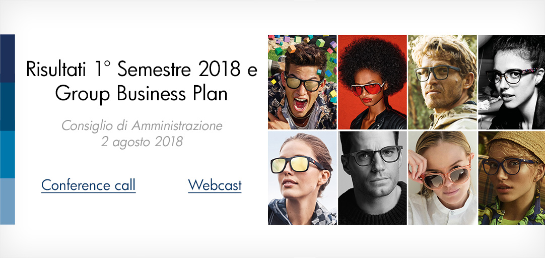Risultati 1° Semestre 2018 e Group Business Plan, 2 agosto 2018