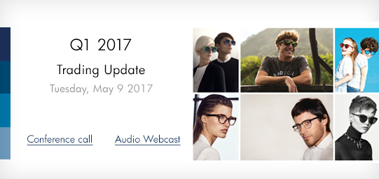 Q1 2017 Trading Update, May 9, 2017