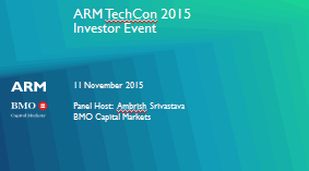 ARM TechCon IR Event