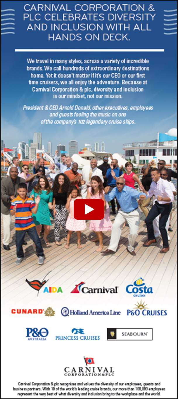 diversity inclusion carnival corporation below are some of our partner organizations we encourage you to get to know them by ing their websites