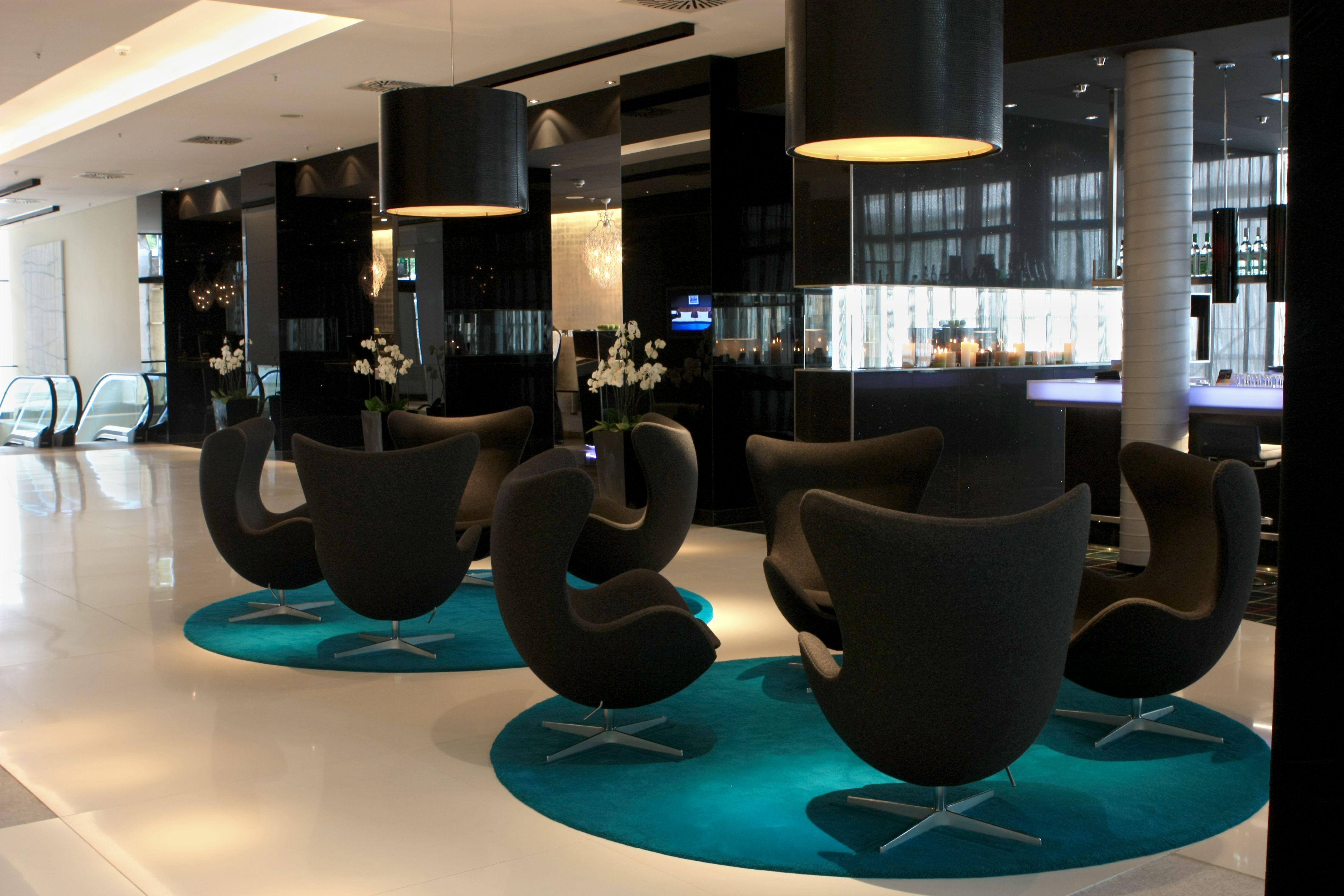 modern hotel lobby front desk the radisson blu hotel in