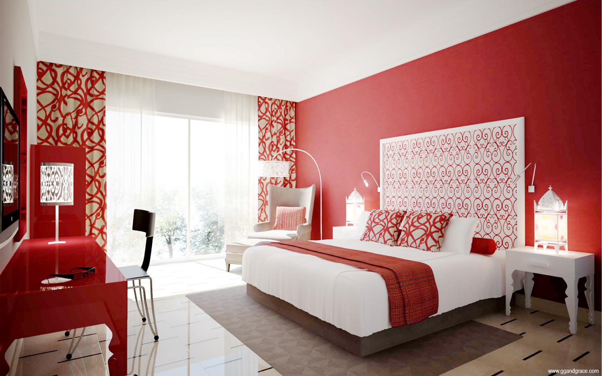 Salon Decorate Cu Tapet