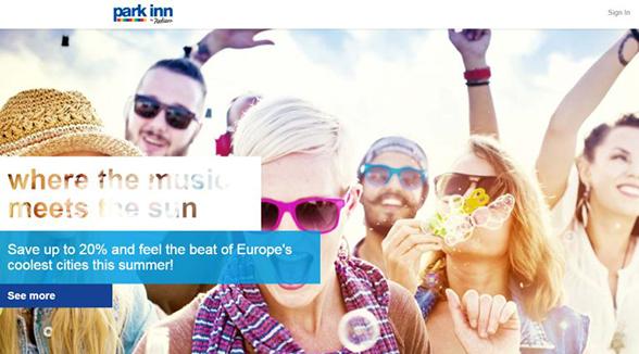 2016-06-27-Park Inn by Radisson launch brand new website