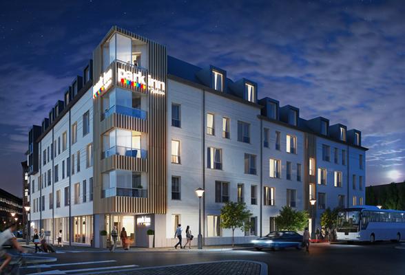 Αποτέλεσμα εικόνας για A new Park Inn by Radisson hotel to come up in Liège in 2020