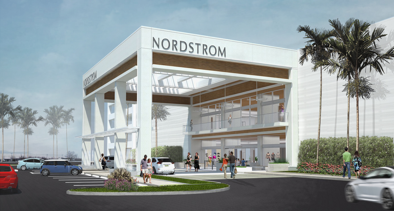 Nordstrom Mall of San Juan Rendering 1