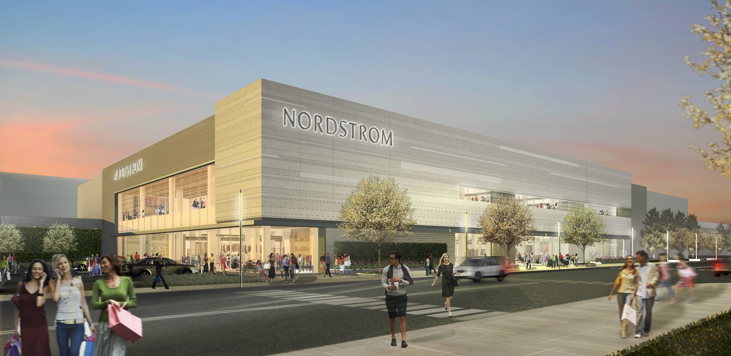 Nordstrom Fashion Show Mall