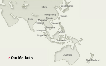 Our Markets Map