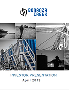 April 2019 Investor Presentation