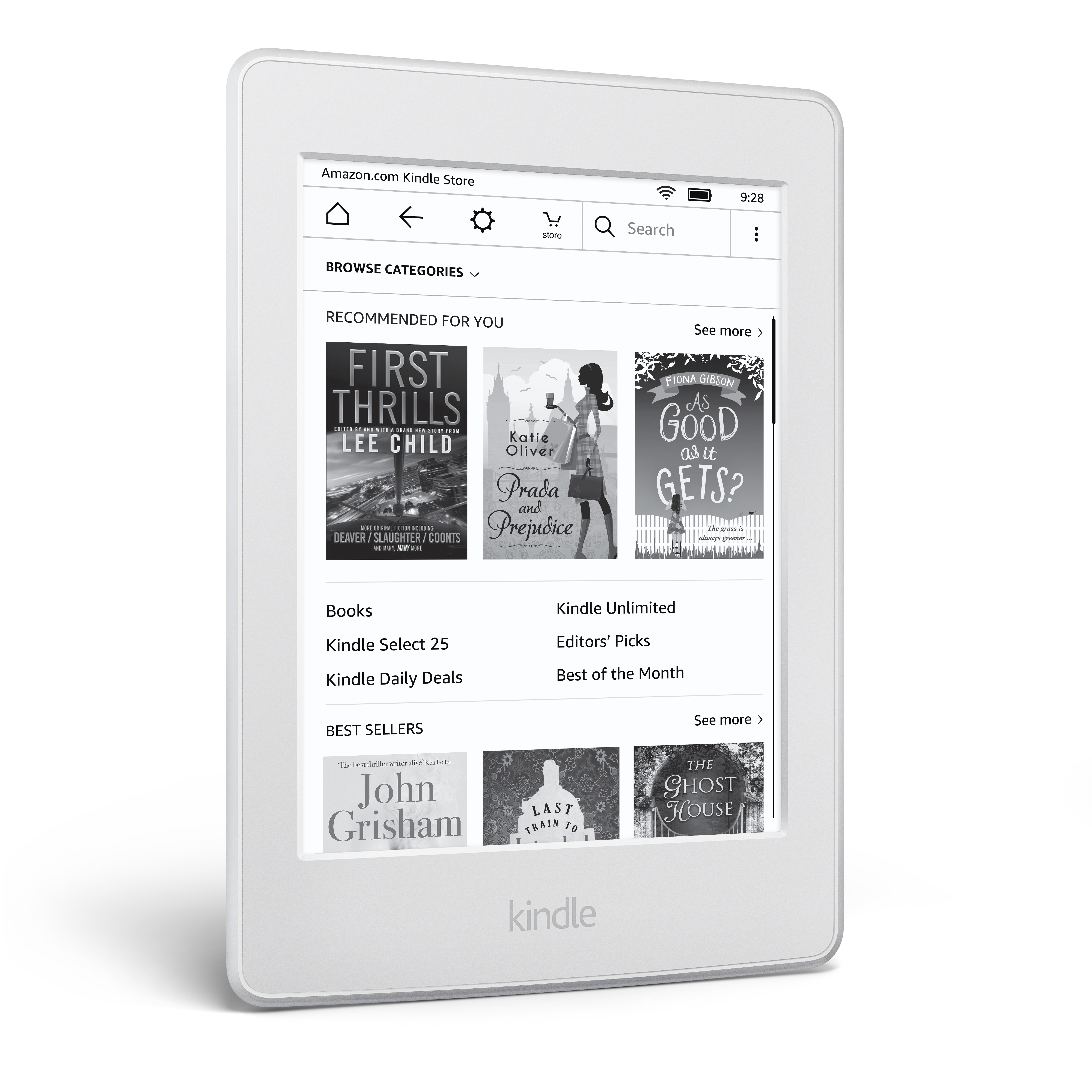 kindle white paper where to buy Buy amazon kindle paperwhite wi-fi e-reader - white at argos thousands of products for same day delivery £395, or fast store collection.