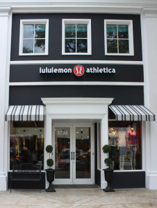 lululemon athletica South Miami opened on April 15, 2011. (Photo: Business Wire)
