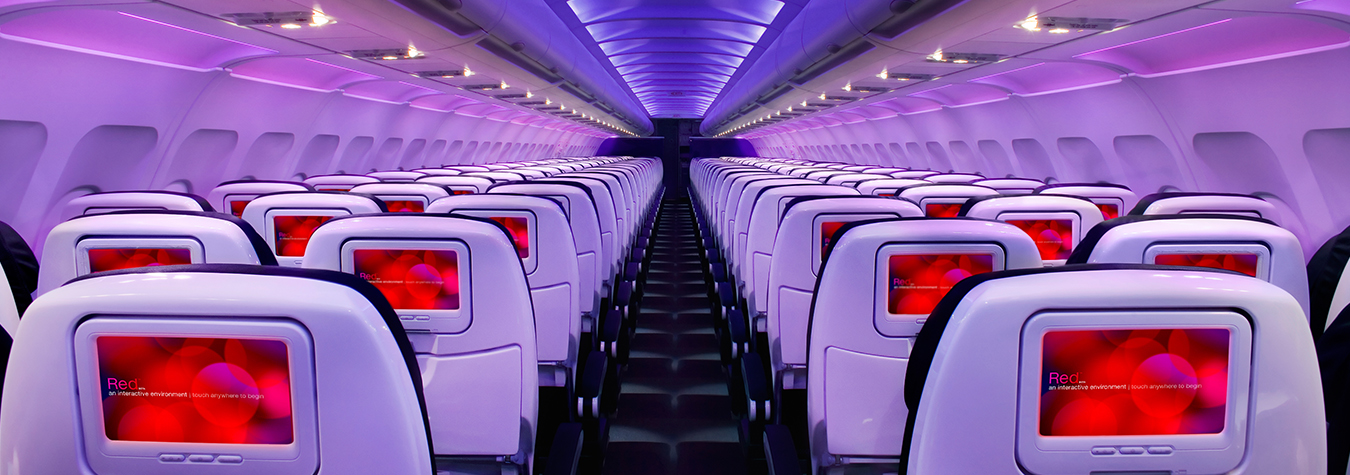 Virgin America Main Cabin