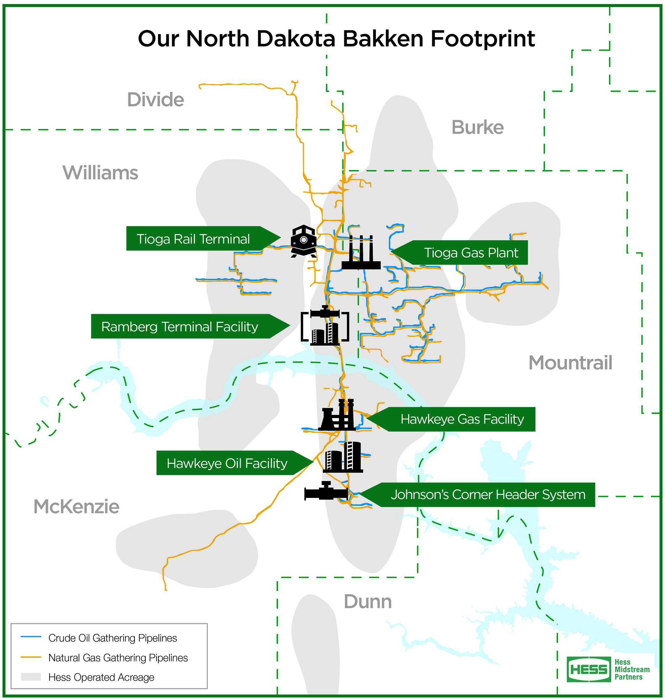 Our North Dakota Bakken Footprint