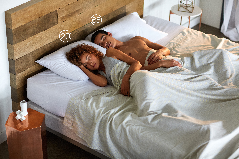 couples on sleep number bed - Sleepnumber Bed