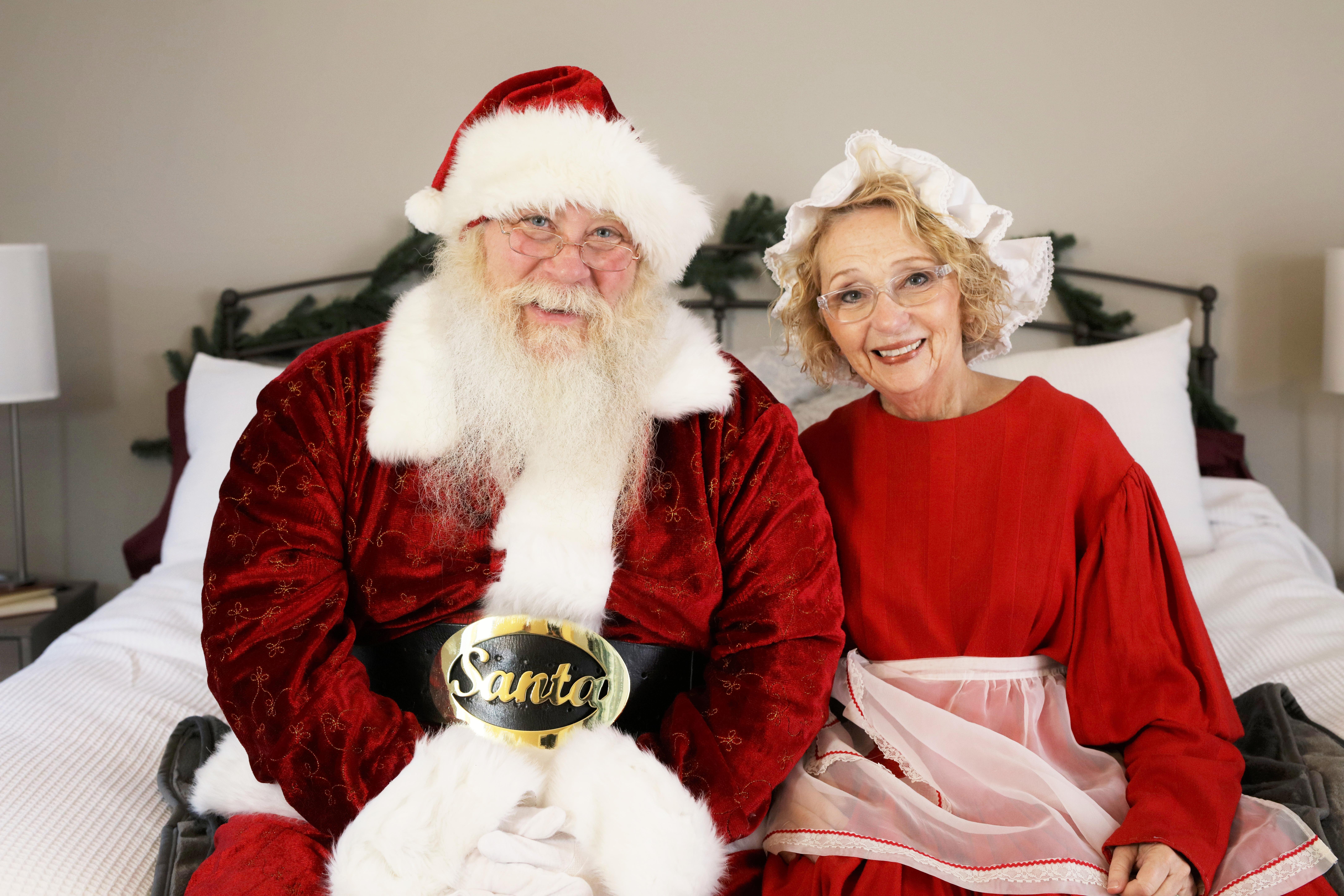 For additional images/broll: newsroom.sleepnumber.com/Santa