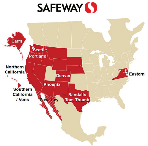 Safeway.com - Investor Relations - Stores By Division/State