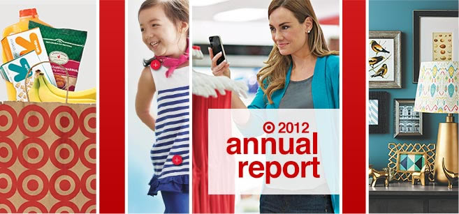 Target 2012 Annual Report cover