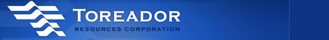 Toreador Resources Corporation Web Site