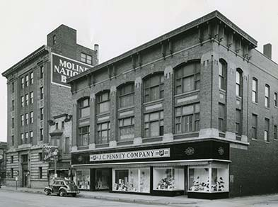 Original JCPenney store in downtown Moline 1042d9e6f