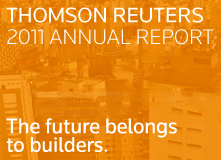 Thomson Reuters 2011 Annual Report