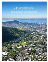 2015 Alexander & Baldwin Annual Report
