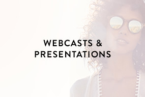 Webcast and Presentations