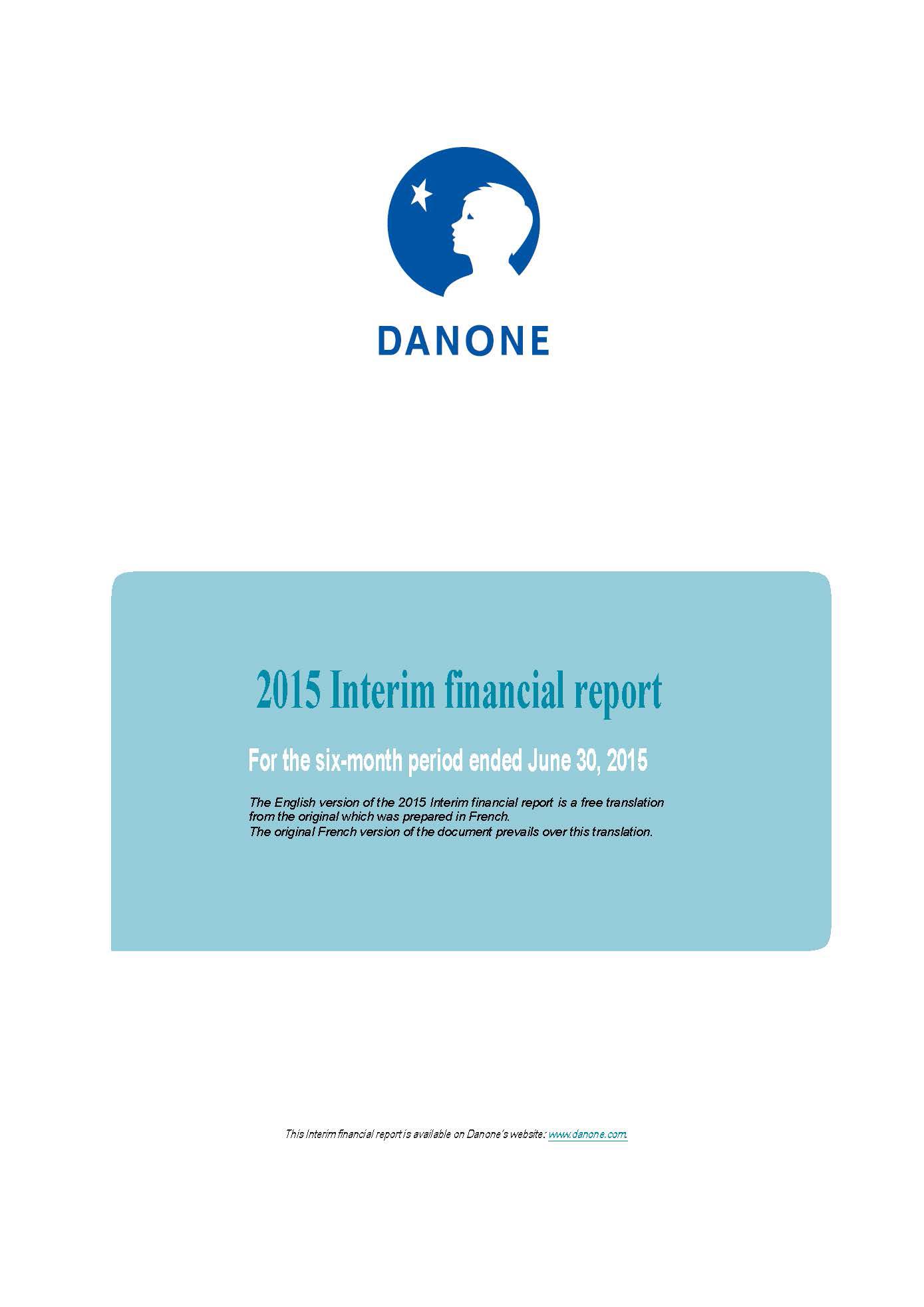 2015 Half year report PDF