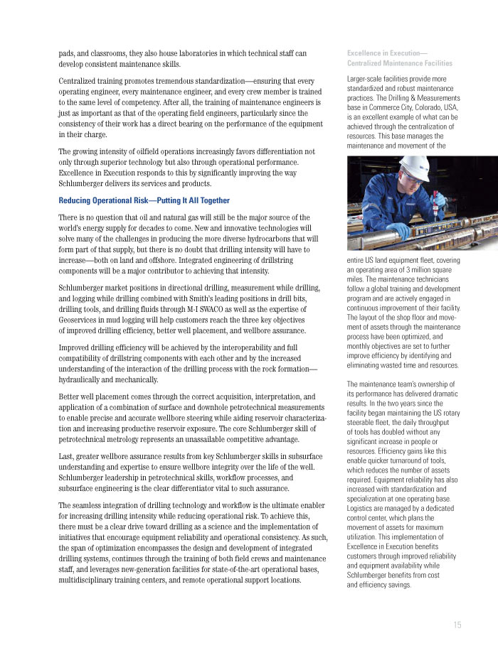 Schlumberger Limited 2010 Annual Report