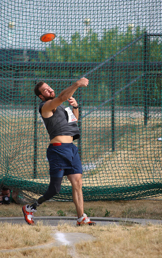 Discus Throw Release Discus Throw Competition