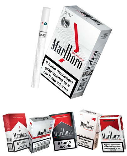 How much nicotine is in Marlboro menthol lights