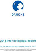 2013 Half year report PDF